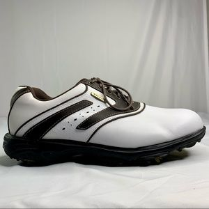Etonic ST3 Golf Shoes Mens 9 Leather Soft Spikes